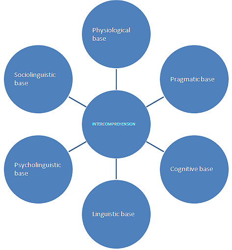 Fig. 4: Components of the Modular Intercomprehension Model